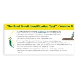 Brief Smell Identification Test version B