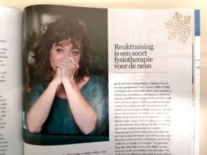 Reuktraining Artikel in magazine