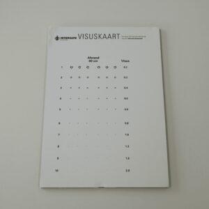 visuskaart 40-60 cm fits indicator 2